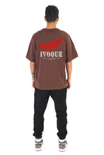 Lade das Bild in den Galerie-Viewer, T-SHIRT WINGS V2 MOCCA BROWN