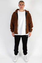 Lade das Bild in den Galerie-Viewer, TEDDY JACKET BROWN COLLEGE