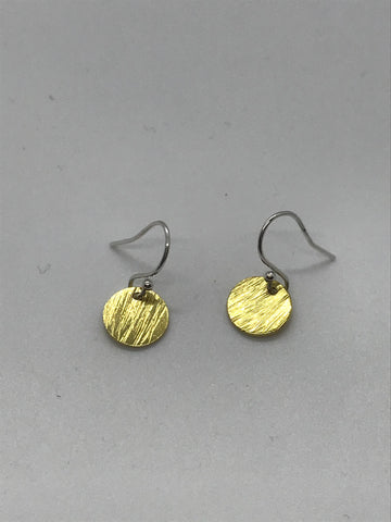 Hera Mini Disc Earrings