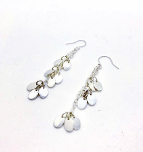 Hera Silver Charm Earrings