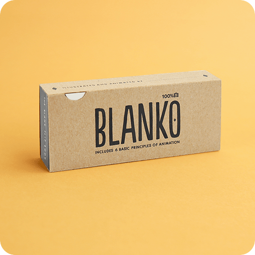 THE BLANKO FLIP BOOK - a blank flipbook with 320 pages on which you can animate whatever comes to your mind. If you're new to animation, learn how to get started with 6 of the basic principles of animation.