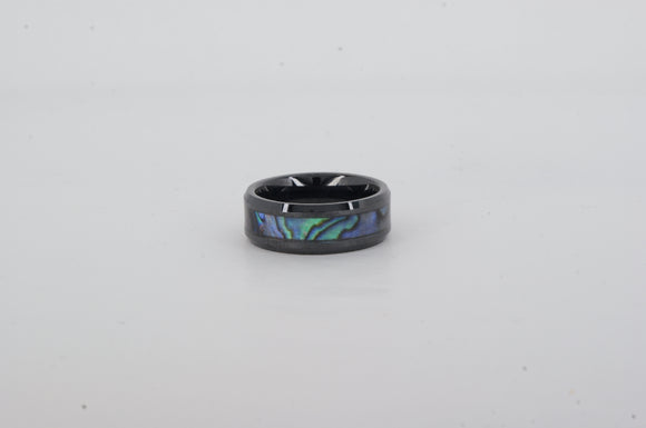 Ceramic Abalone Ring Available at The Vault Fine Jewellery
