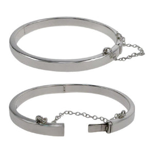 Sterling Silver Bangle Available at The Vault Fine Jewellery