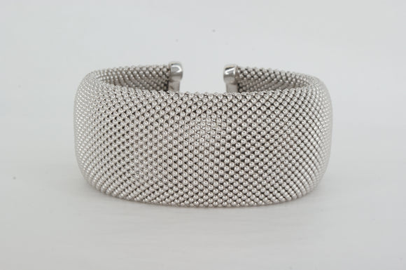 Sterling Silver Bangle Miss Mimi Available at The Vault Fine Jewellery