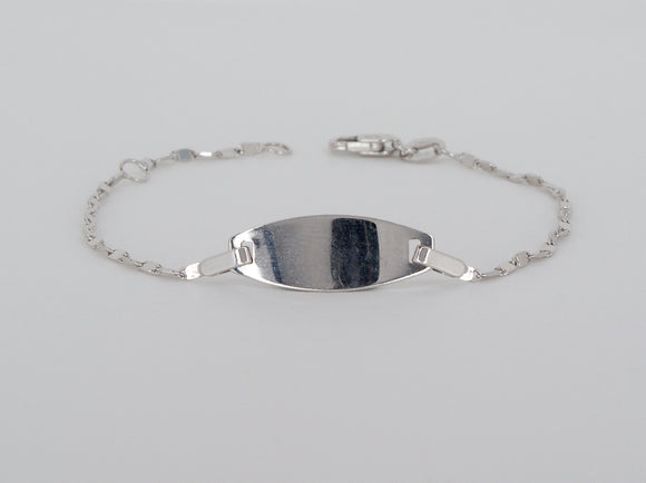 10k White Gold Bracelet Available at The Vault Fine Jewellery