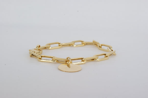Yellow Gold Bracelet Miss Mimi Available at The Vault Fine Jewellery