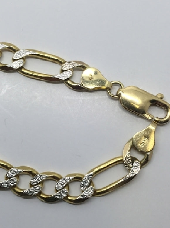 10k Gold bracelet  Available at The Vault Fine Jewellery