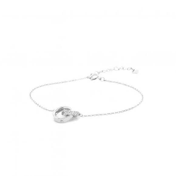 Sterling Silver Cubic Zirconia Bracelet Available at The Vault Fine Jewellery