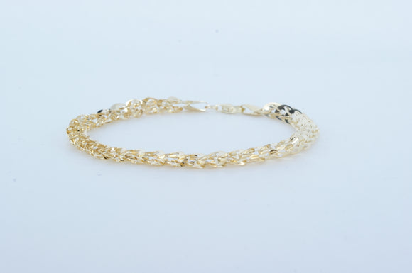 10k Yellow Gold Bracelet  Available at The Vault Fine Jewellery