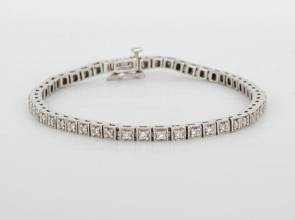 Tennis Bracelet  Available at The Vault Fine Jewellery