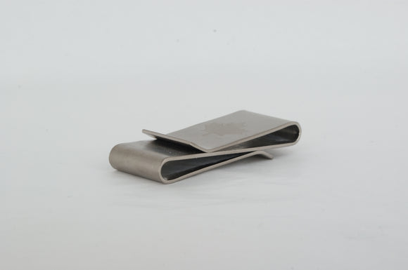 Titanium Money Clip Available at The Vault Fine Jewellery