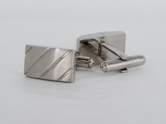 Stainless Steel Cufflinks Available at The Vault Fine Jewellery