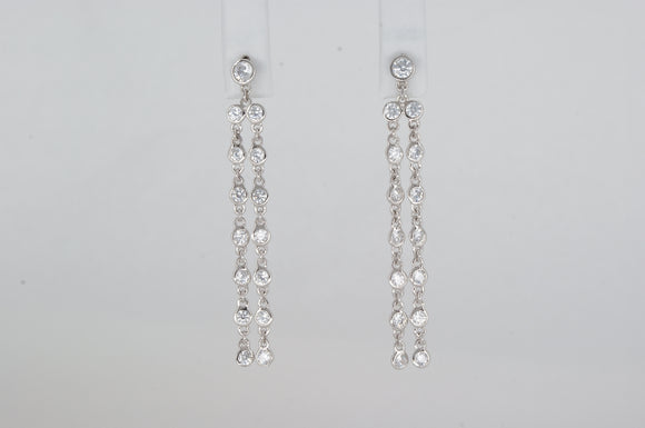 Sterling Silver Earrings Miss Mimi Available at The Vault Fine Jewellery