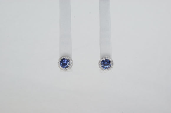 Sterling Silver Studs Cubic Zirconia Available at The Vault Fine Jewellery