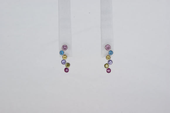 Sterling Silver Cubic Zirconia Earrings Available at The Vault Fine Jewellery