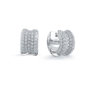 Cubic Zirconia Earrings Miss Mimi Available at The Vault Fine Jewellery