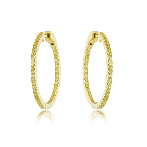 Sterling Silver Gold Plated Miss Mimi Earrings Available at The Vault Fine Jewellery