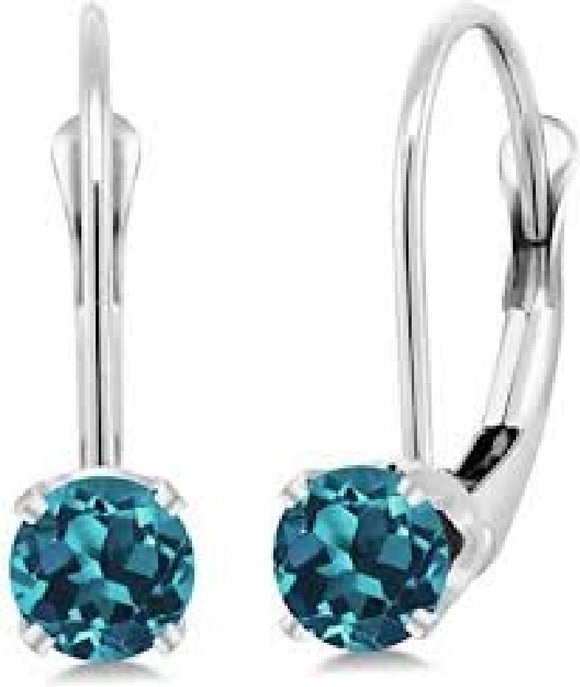 14k White Gold Earrings Availabel at The Vault Fine Jewellery