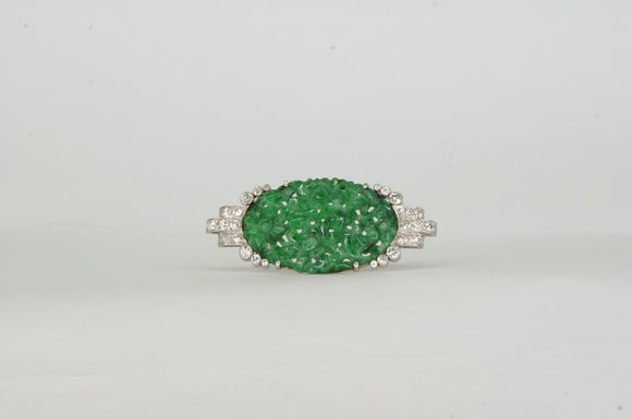Diamond Broach Estate & Vintage Availabel at The Vault Fine Jewellery