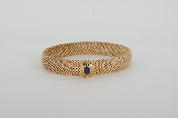 14k Yellow Gold Bangle Bracelet Estate & Vintage Availabel at The Vault Fine Jewellery