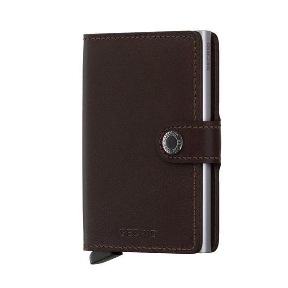 Original Dark Brown Miniwallet by Secrid