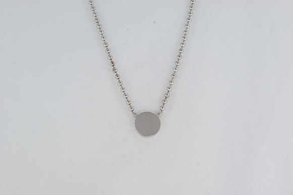 Sterling Silver Necklace Availabel at The Vault Fine Jewellery