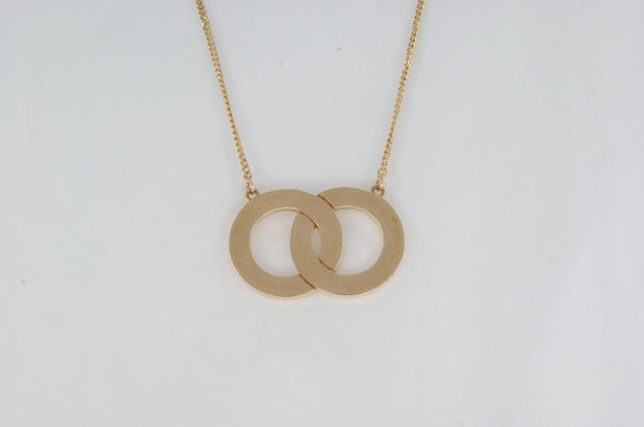 Yellow Gold Necklace Availabel at The Vault Fine Jewellery