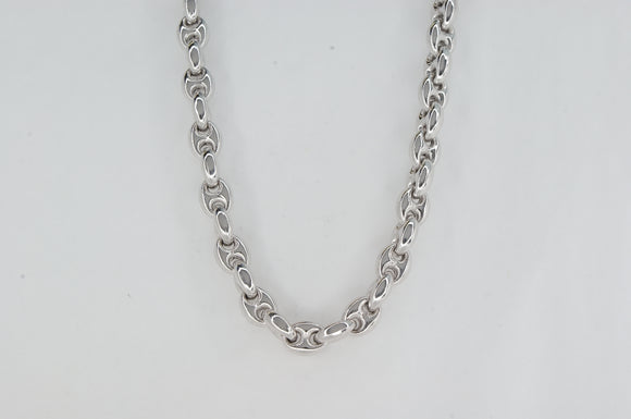 Sterling Silver Bombe G link Necklace Miss Mimi Availabel at The Vault Fine Jewellery