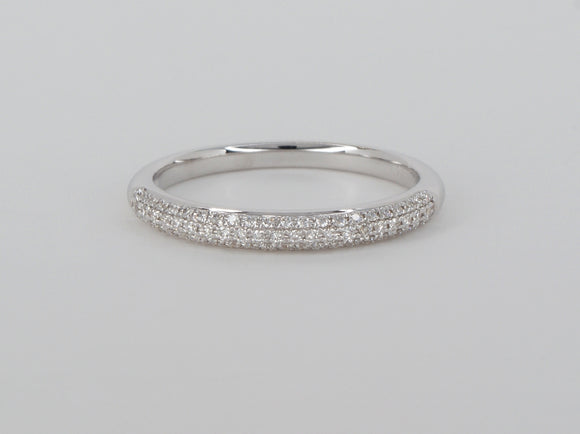 18k White Gold Diamond Ring Availabel at The Vault Fine Jewellery