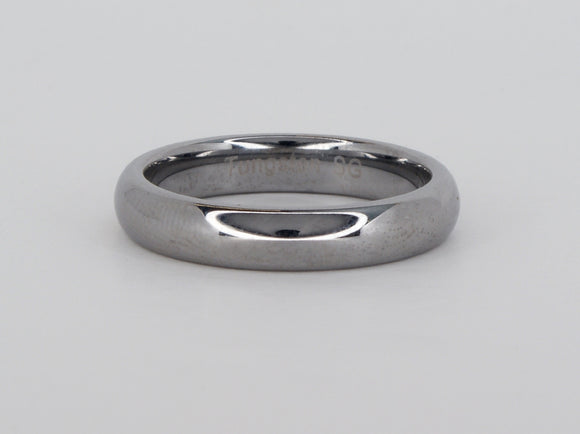 Tungsten Carbide Plain Band Size 9 Supreme Ring Availabel at The Vault Fine Jewellery