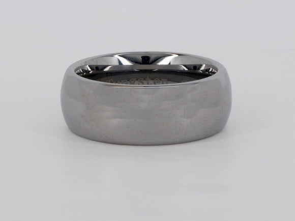 Tungsten 8mm Size 8 Supreme Ring Availabel at The Vault Fine Jewellery