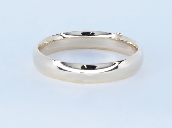 10k Yellow Gold comfort Fit Ring Availabel at The Vault Fine Jewellery
