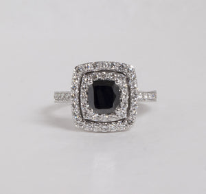 14K White Gold