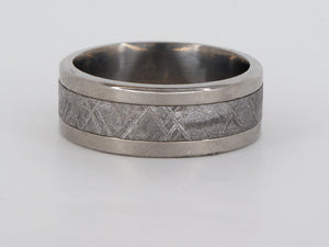Titanium Meteorite Band Ring Availabel at The Vault Fine Jewellery