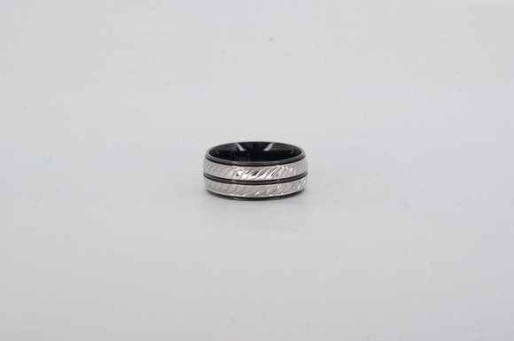 Stainless Steel Ring Availabel at The Vault Fine Jewellery
