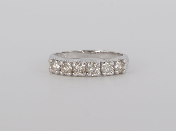 10k White Gold Diamond Ring Availabel at The Vault Fine Jewellery