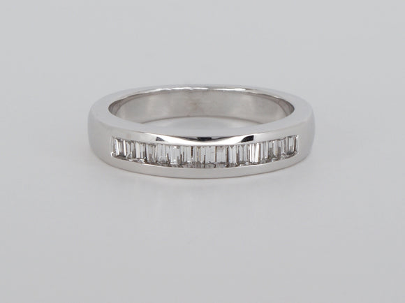 14k White Gold Diamond Ring Availabel at The Vault Fine Jewellery