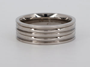 Titanium size 12 Stuller Ring Availabel at The Vault Fine Jewellery