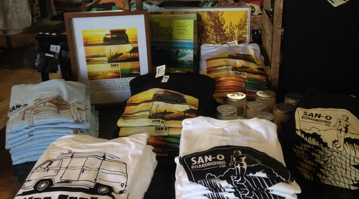 SanO X Hobie Surf Shop Spring 2017 now available