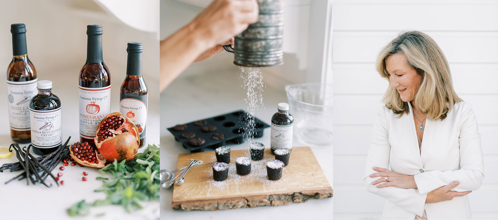 Karin Campion, Founder Sonoma Syrup, all-natural syrups, extracts and bar mixers