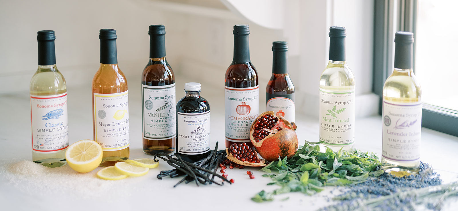 Sonoma Syrup Co. Product Family