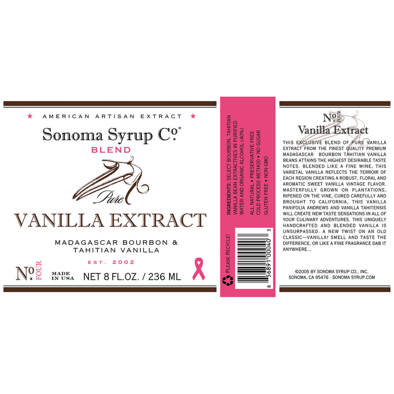 "Pure Vanilla Bean Extract ""Blend"""