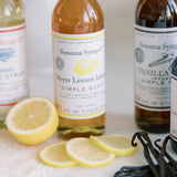 No. 1 Meyer Lemon Infused Simple Syrup