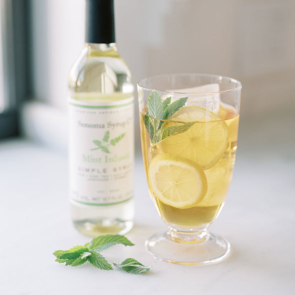 No. 2 Mint Infused Simple Syrup