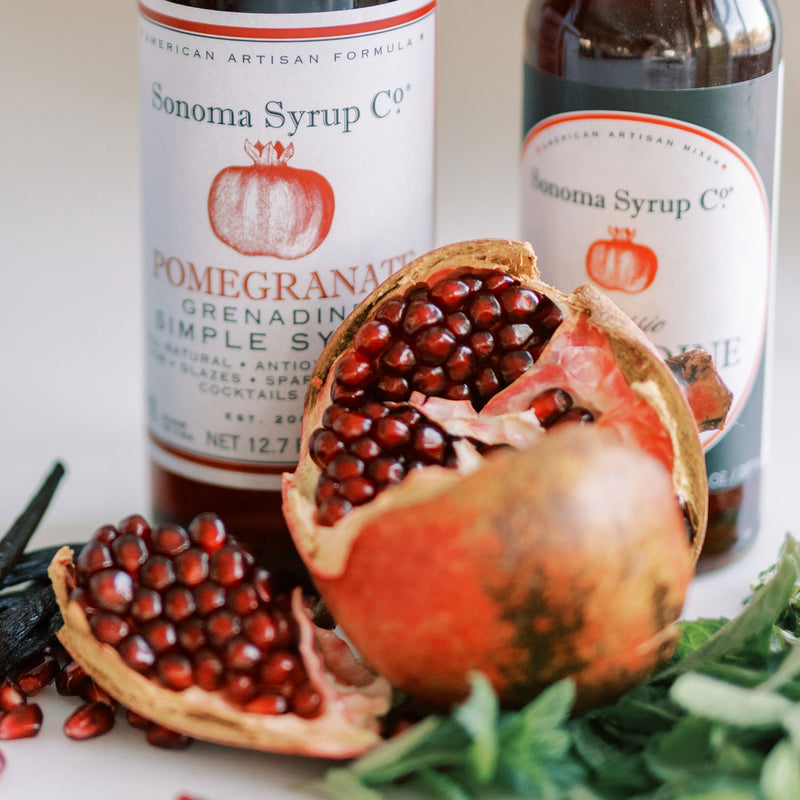 No. 8 Pomegranate Simple Syrup
