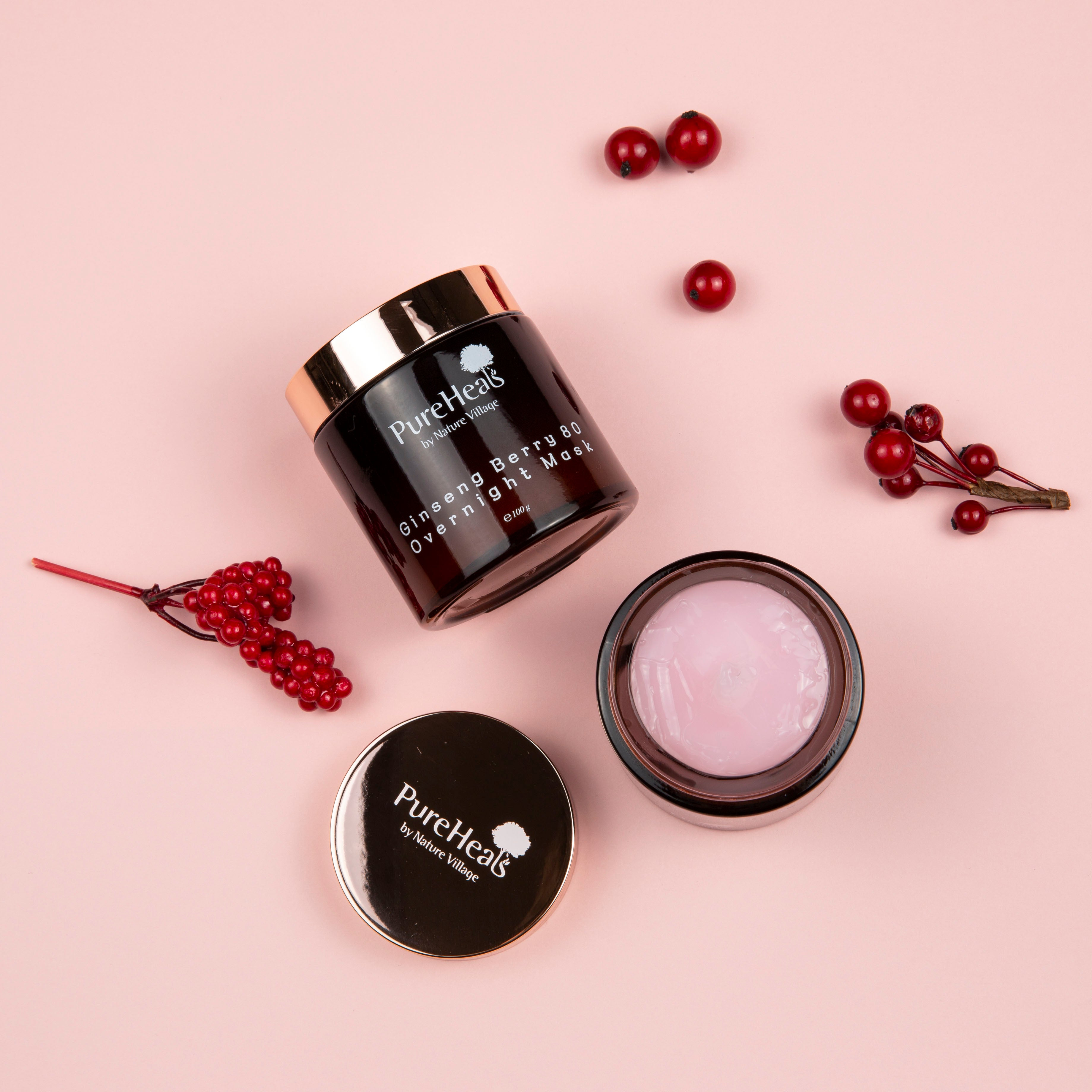 Ginseng Berry 80 Overnight Mask - Plump Shop