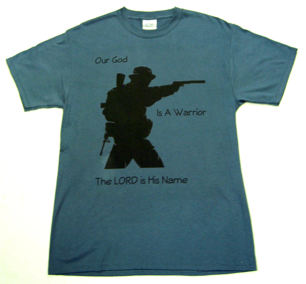 """God is a Warrior"" Tactical Systems Armory T-Shirt"