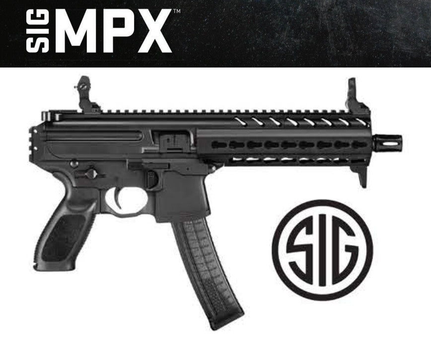 SIG, MPX, 9mm, High Capacity, Tactical