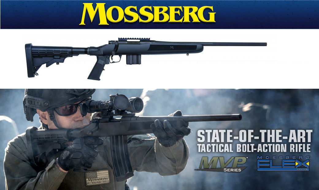 Mossberg, MVP, Flex, TPR, Tactical Precision Rifle