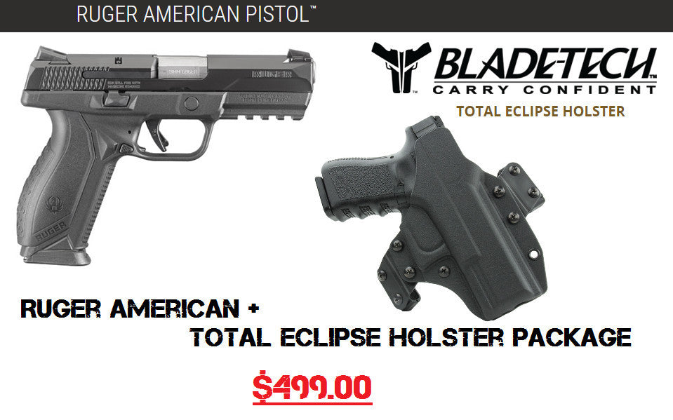 Ruger American Pistol, Package, Bladetech, Holster